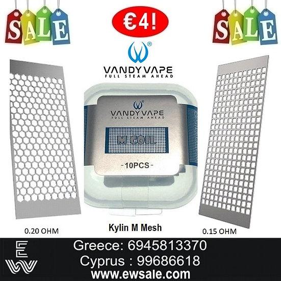 Vandy Vape Kylin MMesh coils Επισκευάσιμες Αντιστάσεις για Ηλεκτρονικά Τσιγάρα
