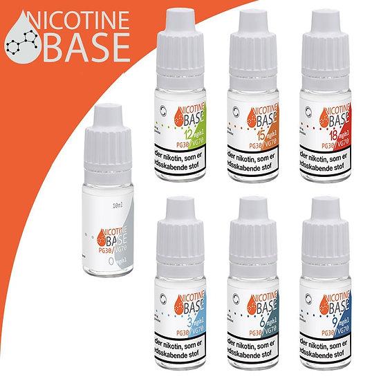 20 x 10 ml Booster νικοτίνης - Ατμιστική Βάση DIY