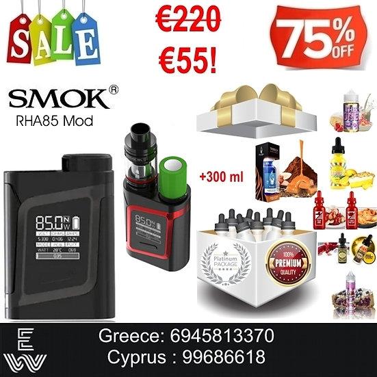 SMOK RHA85 Mod + 300 ml Δημοφιλή Υγρά Αναπλήρωσης, άτμισης