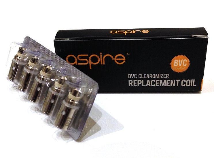 5 Aspire BVC Coils  Ανταλλακτικές κεφαλές (αντιστάσεις)