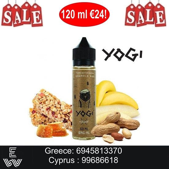 120 ml YOGI Peanut Butter Banana Υγρά αναπλήρωσης