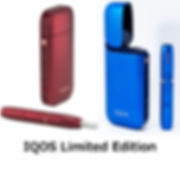 IQOS Starter Kit - Blau & Rot Limited Edition 2018!