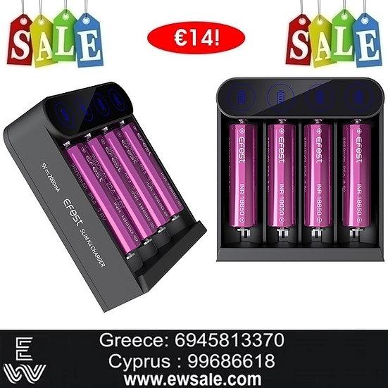 Efest Slim K4 φορτιστής μπαταριών για Ηλεκτρονικά Τσιγάρα