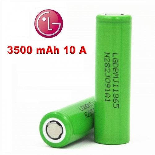 1+1 LG INR18650MJ1 - 3500mah - 10A - ΜΠΑΤΑΡΙΕΣ ΓΙΑ MODS