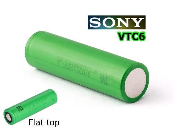 1+1 Sony US18650VTC6 - ΜΠΑΤΑΡΙΕΣ ΓΙΑ MODS