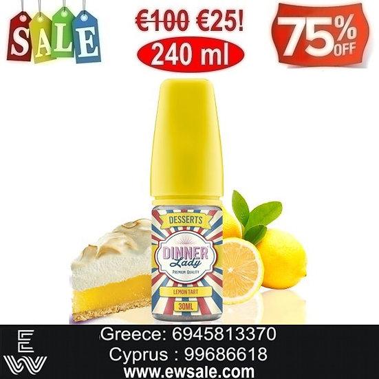 240 ml Dinner Lady Lemon Tart DIY Υγρά αναπλήρωσης