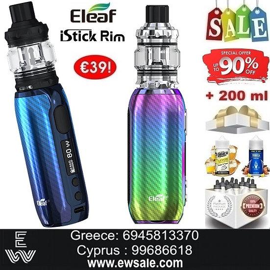 Eleaf iStick Rim 80W Kit Hλεκτρονικό τσιγάρο + 200ml Υγρά άτμισης
