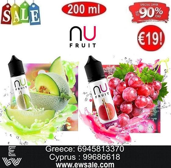 200 ml NU Fruit DIY Υγρά Αναπλήρωσης