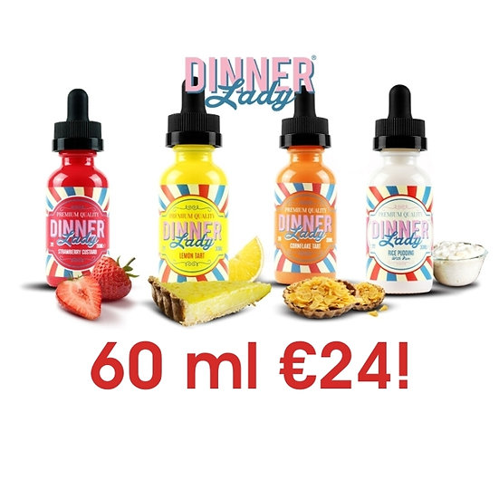 Dinner Lady 60 ml Vape e-juice - Υγρά αναπλήρωσης