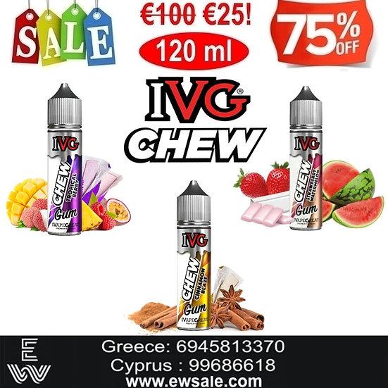 120 ml IVG Chew Υγρά αναπλήρωσης