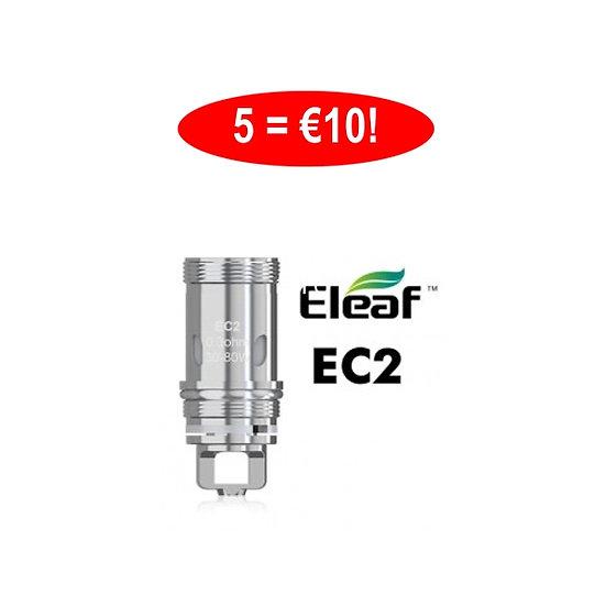5 x ELEAF EC(2) COILS κεφαλές αντίστασης