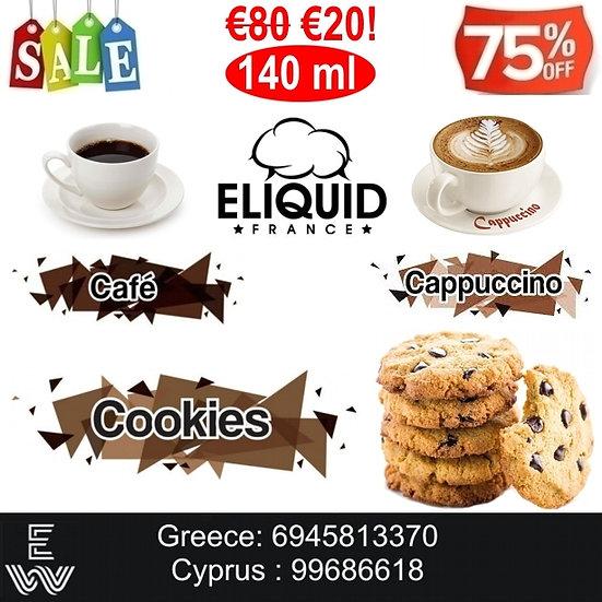 E-liquid France Greedy 140 ml Υγρά αναπλήρωσης