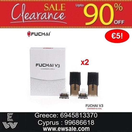 2 x Ανταλλακτικά Pods Sigelei Fuchai V3 Kit