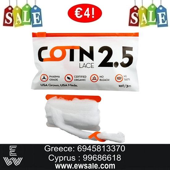 3m COTN Lace βαμβάκι αντίστασης ηλεκτρονικού τσιγάρου