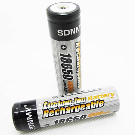 18650 RECHARGEABLE BATTERY - PACK OF 2 from €9.00