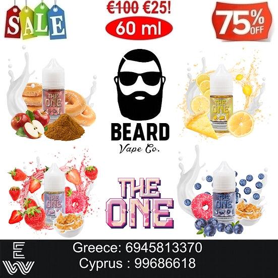 60 ml Beard The One Αρώματα DIY υγρων αναπληρωσης