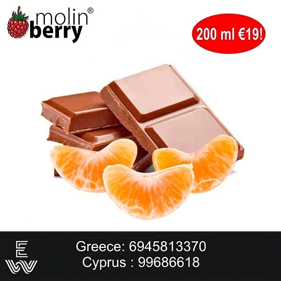 200 ml Chocolate Clementine Molinberry M-line DIY Υγρά άτμισης