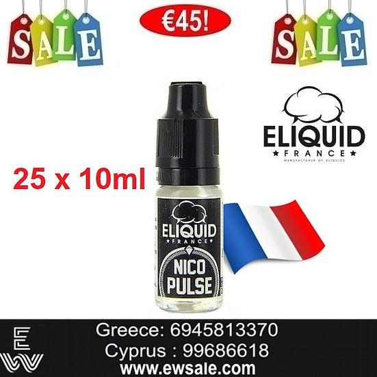 25 x  Eliquid France NicoPulse Booster νικοτίνης - Ατμιστική Βάση νικοτίνης