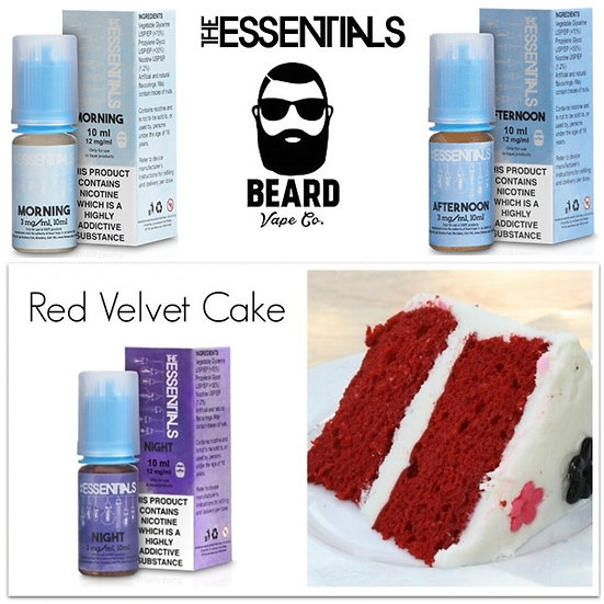 The Essentials by Beard Vape Co 60 ml - Υγρά αναπλήρωσης