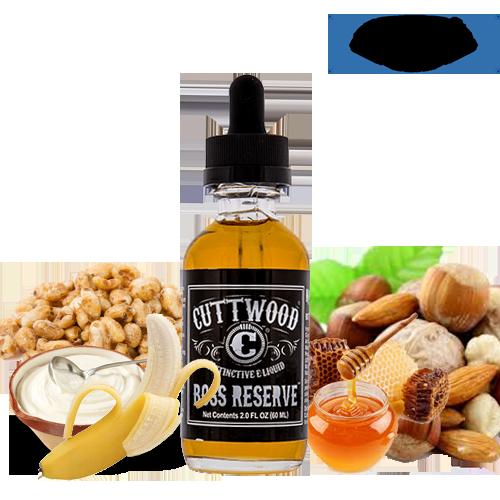 Cuttwood Boss Reserve 6x10 ml Vape e-juice - Υγρά αναπλήρωσης