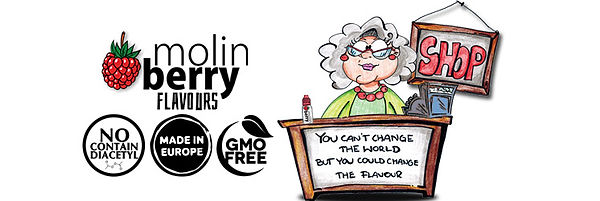 Molinberry M-line Αρώματα DIY υγρων αναπληρωσης / E-liquid flavours
