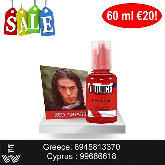 60 ml T-Juice's Red Astaire Αρώματα DIY υγρων άτμισης