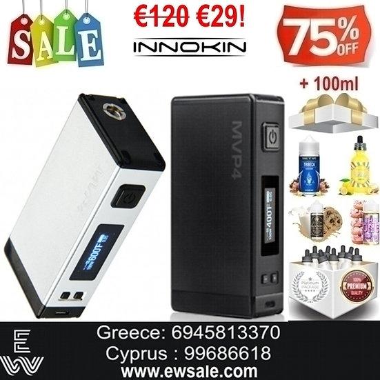Innokin MVP4 Express Mod ηλεκτρονικού τσιγάρου + 100ml Υγρά άτμισης
