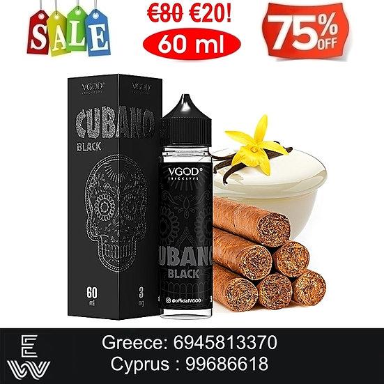 VGOD Cubano Black 60 ml Υγρά Αναπλήρωσης