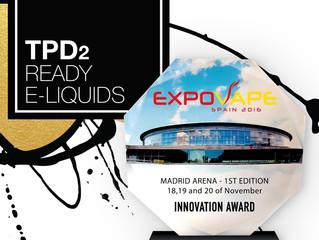 4U awarded for the best innovation at EXPOVAPE Madrid