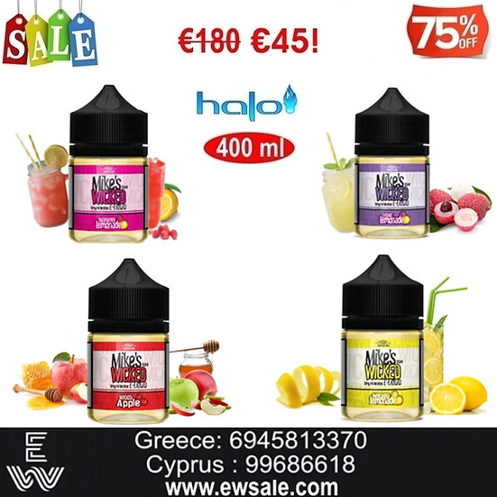 400 ml Halo Mike's Wicked Υγρά αναπλήρωσης