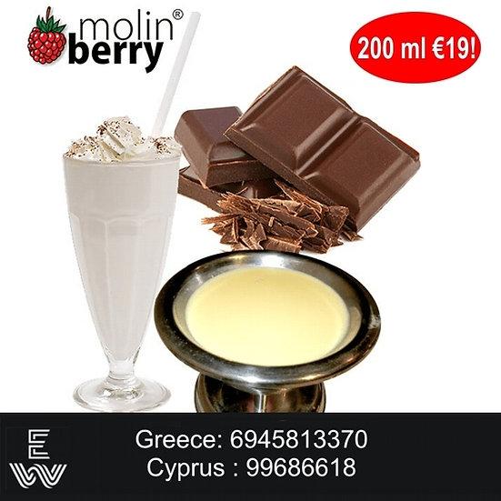 200 ml Chocolate Custard Molinberry M-line DIY Υγρά άτμισης