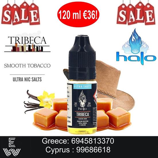 12 x 10ml Halo Tribeca Nic Salt, άλατα νικοτίνης 20mg Υγρά άτμισης