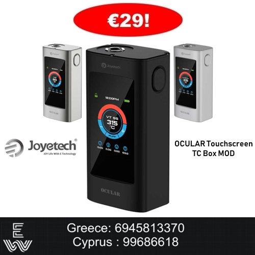 Joyetech OCULAR Touchscreen TC Mod ηλεκτρονικό τσιγάρο