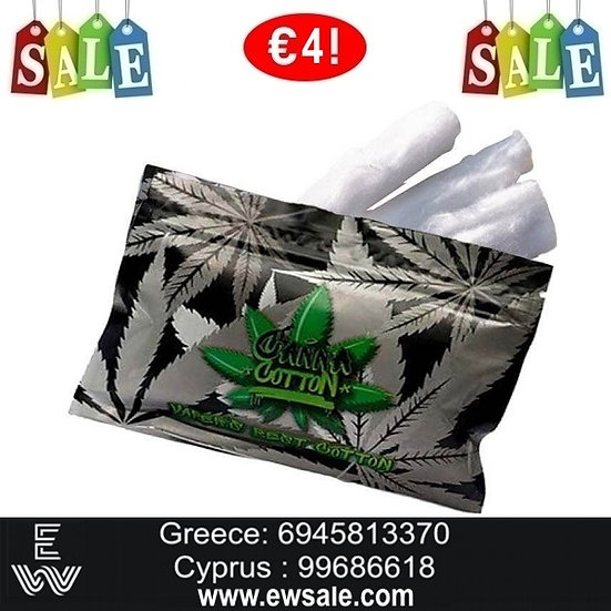 Canna Cotton 10gΑνταλλακτικό βαμβάκι αντίστασης ηλεκτρονικού τσιγάρου
