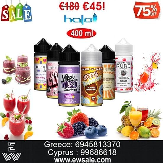 400 ml Halo Γεύσεις Φρούτων Υγρά αναπλήρωσης