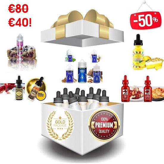 400 ml Gold Vape Box - Δημοφιλή Υγρά άτμισης