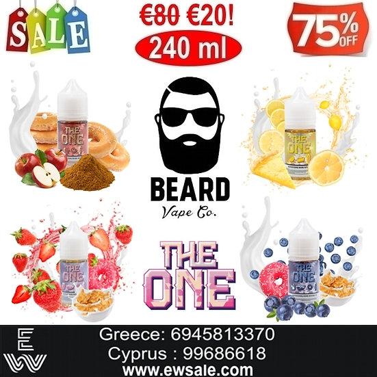 240 ml Beard The One DIY Υγρά αναπλήρωσης