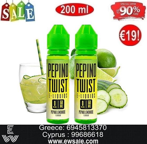 200 ml Twist Pepino DIY Υγρά Αναπλήρωσης