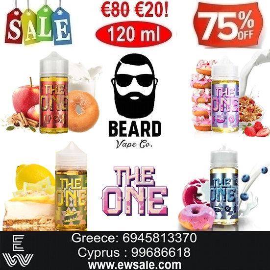 120 ml Beard Vape THE ONE - Υγρά αναπλήρωσης