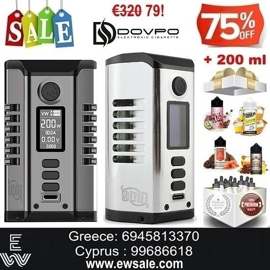 Dovpo Vaperz Cloud Odin 200W Mod ηλεκτρονικού τσιγάρου + 200ml Υγρά άτμισης