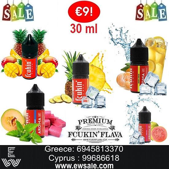 30 ml Fcukin Flava Συμπυκνωμένα αρώματα DIY υγρων αναπληρωσης
