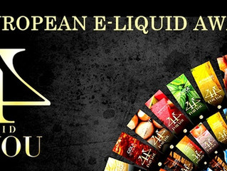 Award Winning E-Liquids / Βραβευμένα Υγρά άτμισης