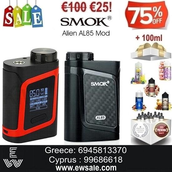 Smok Alien AL85 Mod Ηλεκτρονικά Τσιγάρα + 100 ml Υγρά Αναπλήρωσης