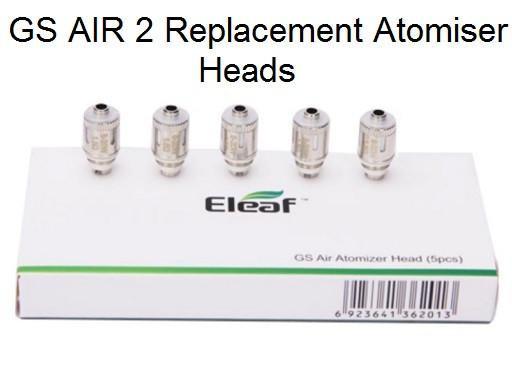 5 ELEAF GS-Air COILS κεφαλές αντίστασης 1,2 Ohm