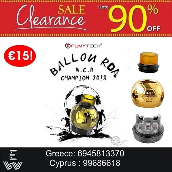 Fumytech Ballon RDA Special Edition Ατμοποιητές ηλεκτρονικού τσιγάρου