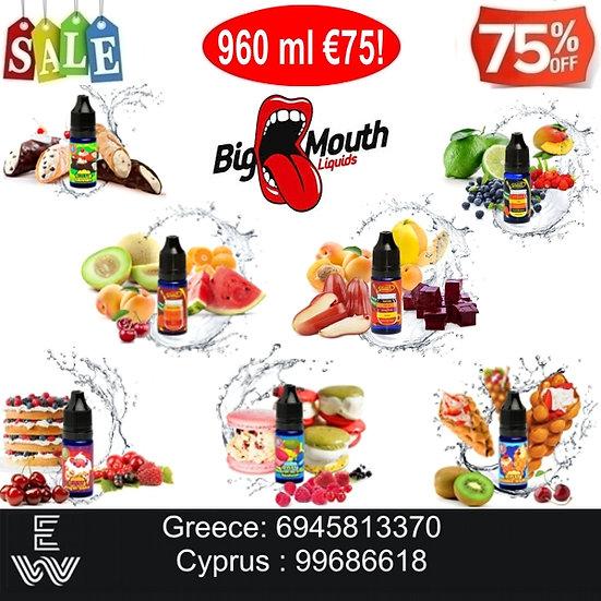 960 ml Big Mouth DIY Υγρά άτμισης
