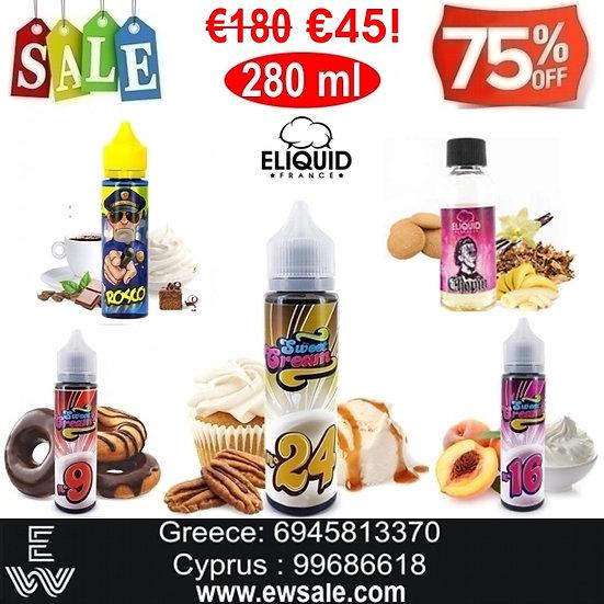 280 ml E-liquid France Υγρά αναπλήρωσης