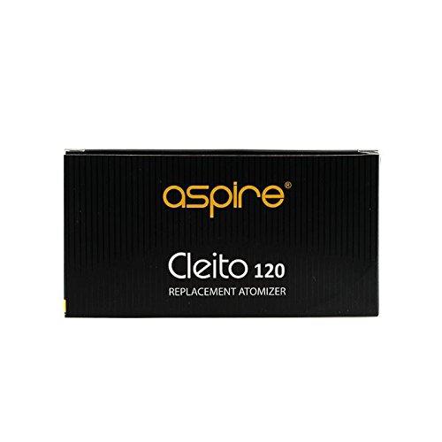5 Aspire Cleito 120 Coils Ανταλλακτικές κεφαλές - αντιστάσεις