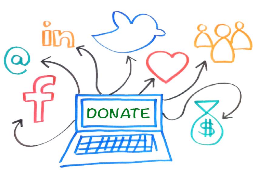 Image result for social media fundraising