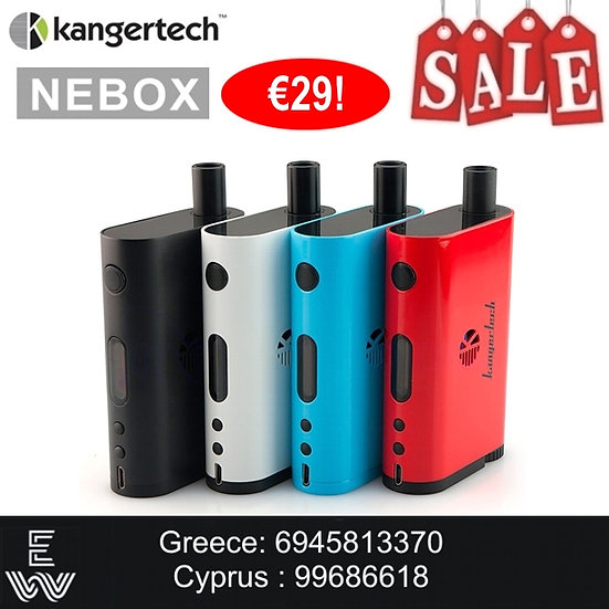NEBOX Kit Kangertech Ηλεκτρονικά Τσιγάρα